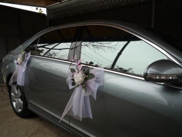 wedding car decoration #17