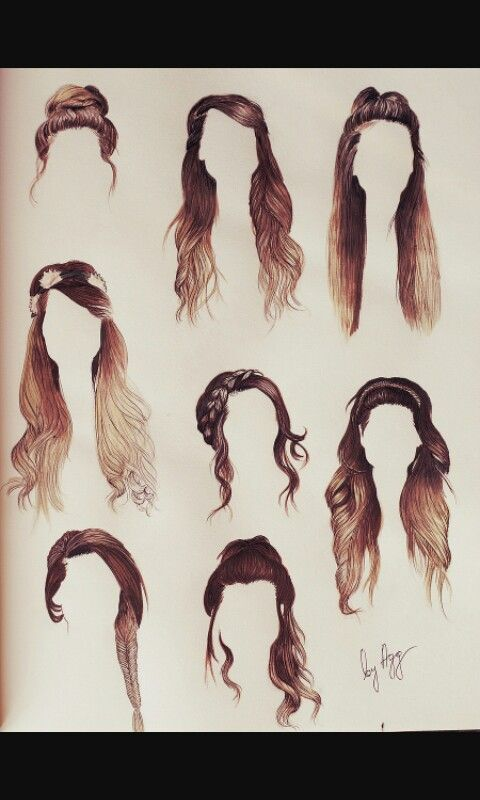 These hairstyles are so cute!!!