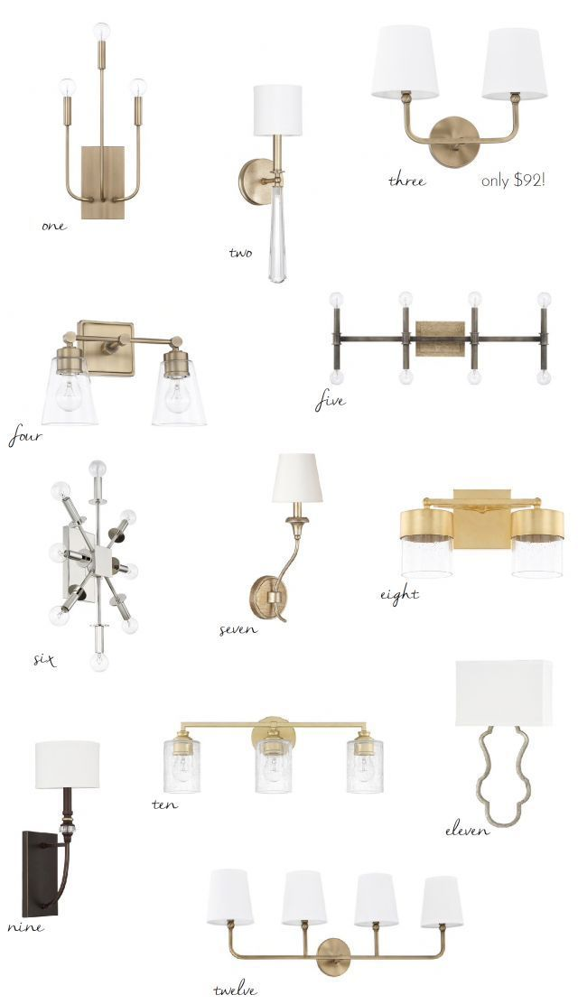 A Bathroom Lighting Source You Need To Know About (wall sconces, vanity light)