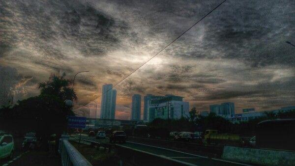 Dark Grey Sky - West Jakarta 120416