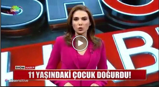 Biliyor muydun ? /// Welcome To Turkey şekerim. Karın ağrısı şikayetiyle doktora giden 11 yaşındaki çocuk doğurdu!