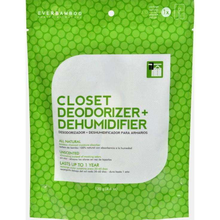 Ever Bamboo Closet Deodorizer And Dehumidifier - 4.6 Oz