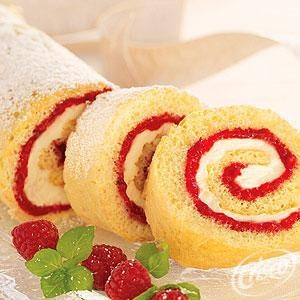 ... Cake Rolls on Pinterest | Peach cake, Cream cake and Banana cakes