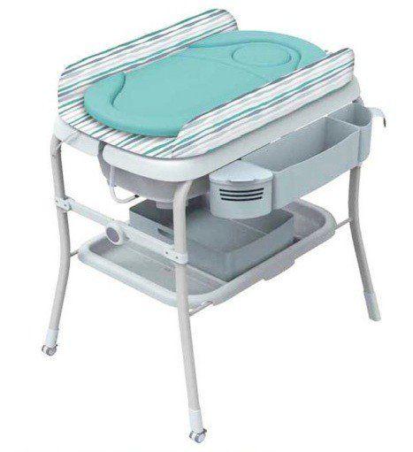 Las Bañeras para bebé Chicco Cuddle & Bubble son Plegables, compactas y fácil de transportar.