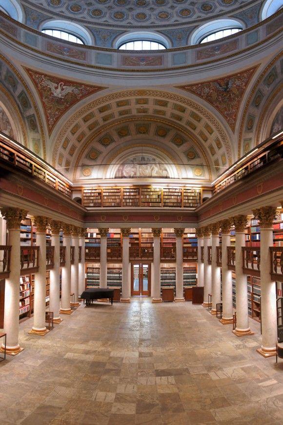 フィンランド国立図書館 フィンランド、ヘルシンキ