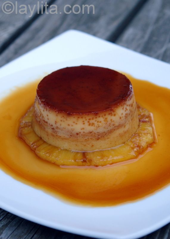 Pineapple flan!  My mom used to make these all the time!!  Repinned to adventures with deserts by Aline