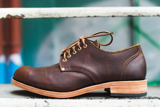 Check out our new Derby Shoe made on the same last as our Work Boots.