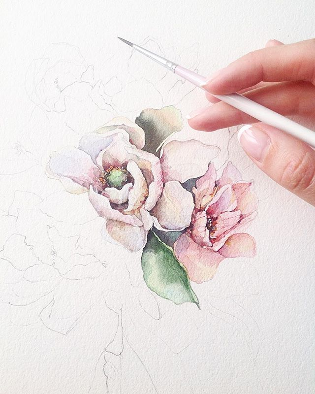 Watercolor - wish i could paint like this...better get practicing