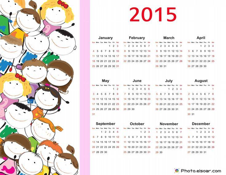 2015 calendars | Cute Kids with 2015 Calendar FREE 2015 Calendars