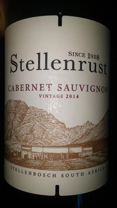 Miguel Chan: Stellenrust Stellenbosch Cabernet Sauvignon 2014