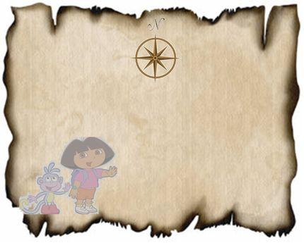molde do mapa dora aventureira