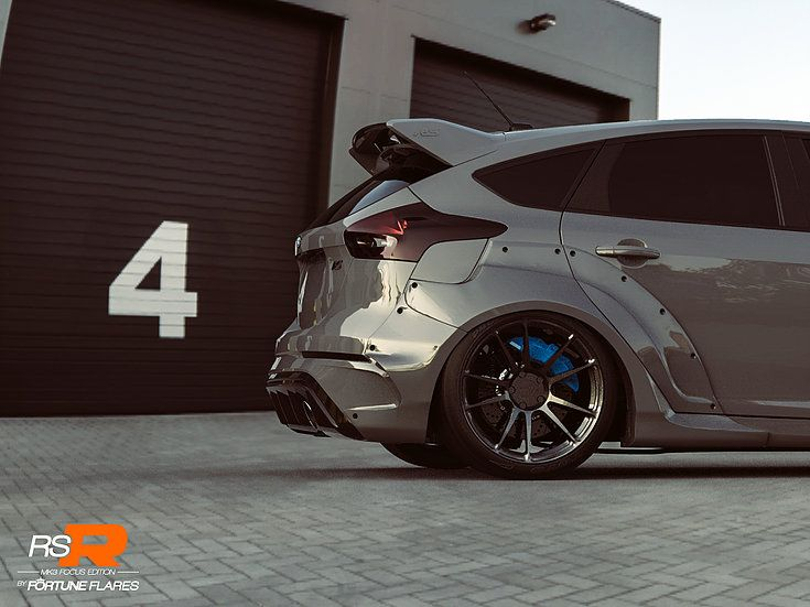 Ford Focus Rs Get Widebody Kit From Fortune Flares Cars Power