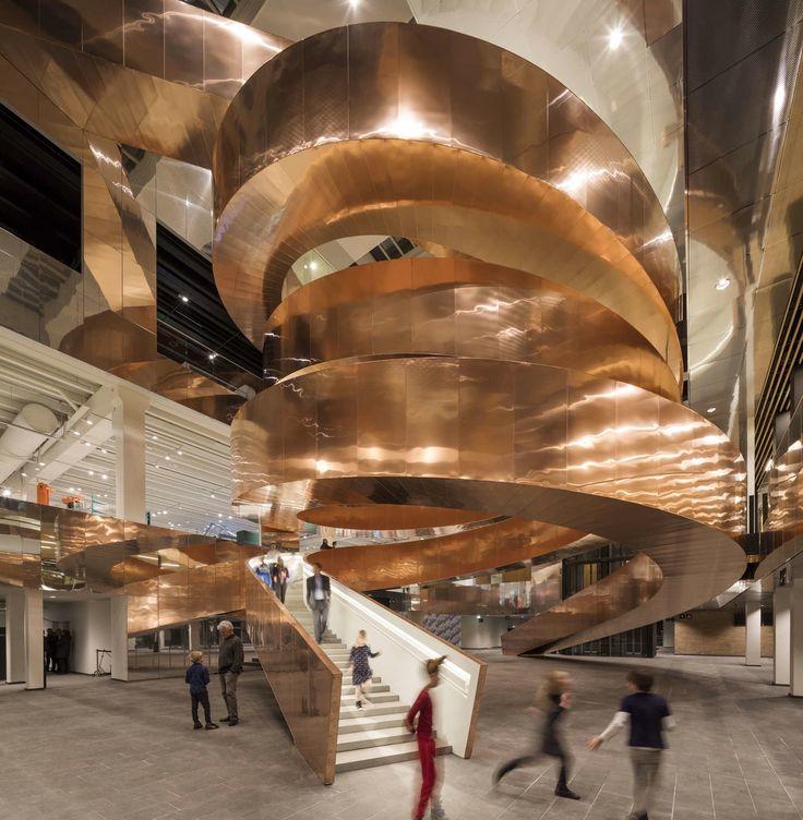 baunetz architektur meldung vom aufwrtsspirale experimentarium von cebra in kopenhagen aktuelle architekturmeldungen aus dem in und ausland - Spa Und Wellness Zentren Kreative Architektur