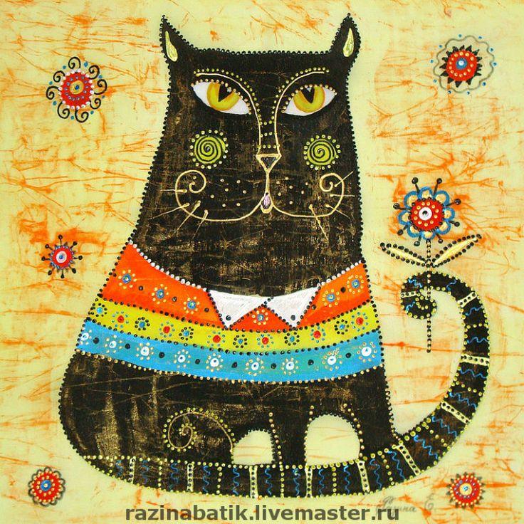 магазин, коты декоративные картины открытым вопрос, откуда