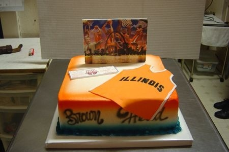 four cake illini parties i dos pinterest galleries cakes