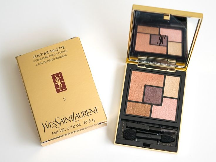 YSL Couture Palette 03 Afrique Review and Swatches | All things ...