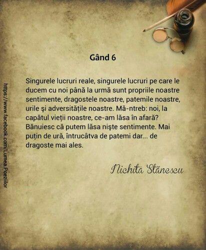 Gand 6/Nichita Stanescu
