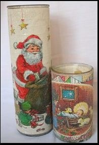 Vintage Christmas Candles we sold these in grade school