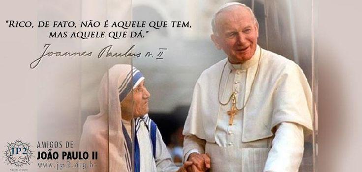 BLOG DA AMLEF: Uma lição de São João Paulo II