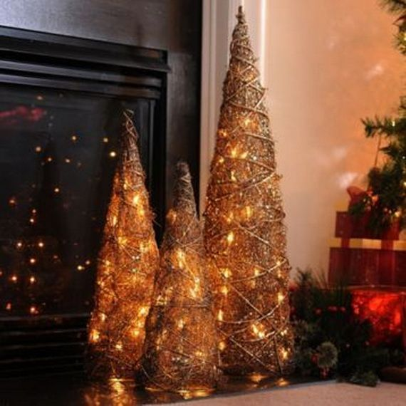 17 best images about diy lighting for the holidays on pinterest halloween string lights and - Appealing christmas led candles for christmas decorations ...