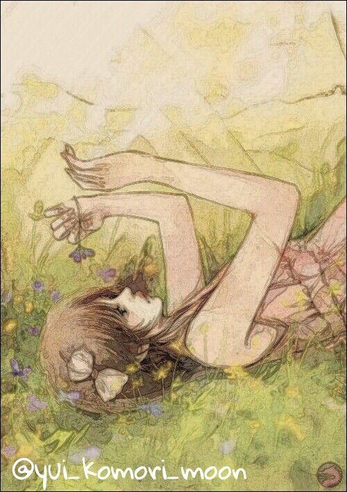 @yui_komori_moon~♡ Anime girl sad!~   Anime girls sad ...