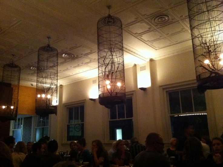 Divine bird cage chandeliers at Blue Ginger, a South East Asian restaurant in Balmain Sydney. One of our favourites. If you're ever there you must try the betel leaves with smoked trout.