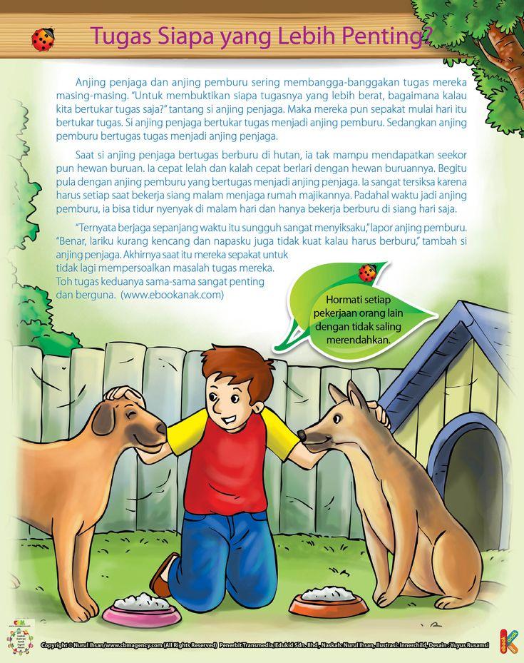 Perselisihan Anjing Pemburu dan Anjing Penjaga