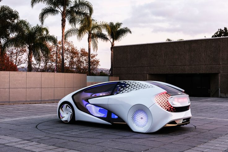 Artificial Intelligence Drives Toyota's Futuristic Concept-i Vehicle