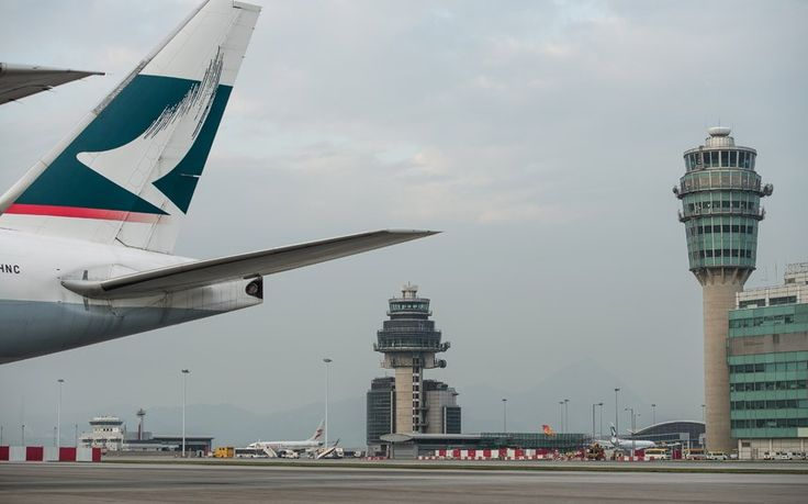 Record-breaking airports  Busiest airport for cargo traffic is Hong Kong International.