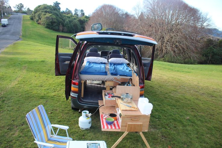 Picnic all day! Van Conversion by old Jakob