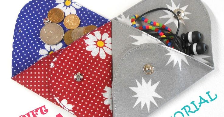 Triangle Folding Pouch pattern is a creative DIY accessory. Tutorial & Pattern