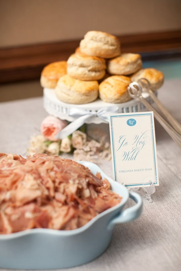 adore the signage at this biscuit bar! | Tracy Timmester