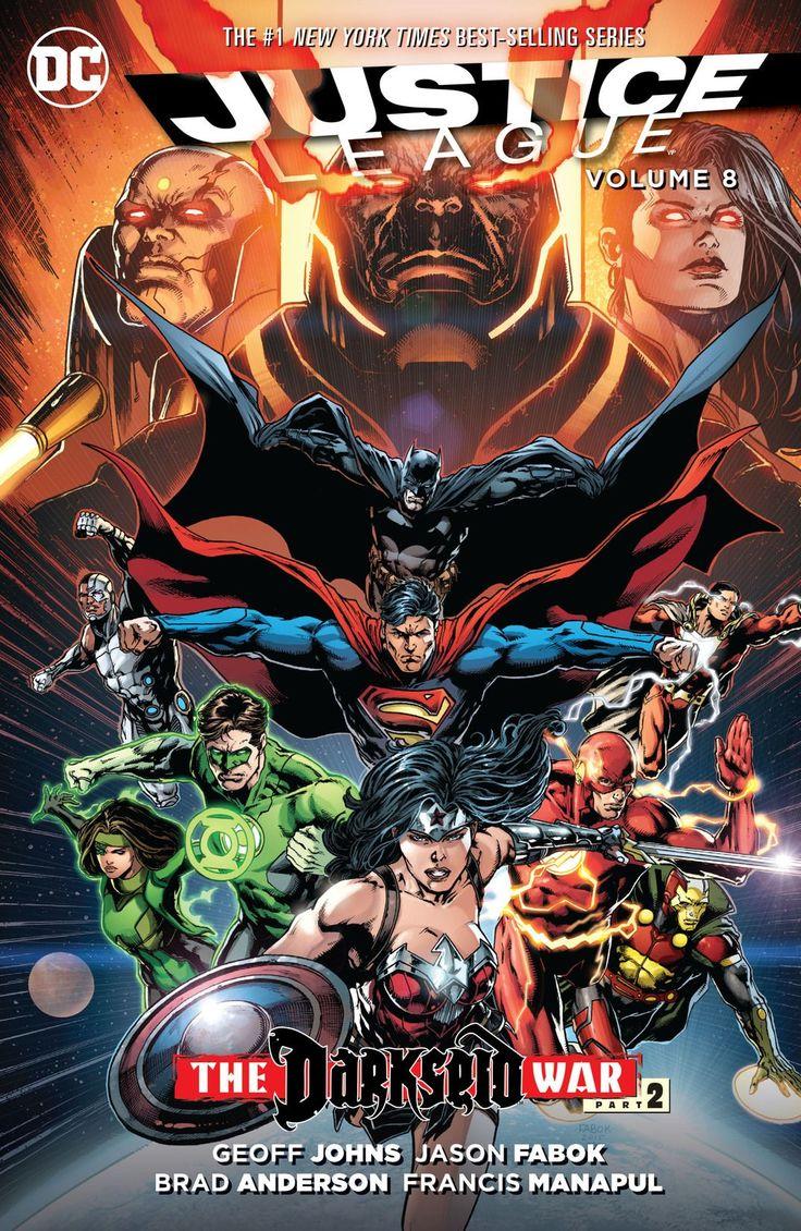 Justice League (2011) Vol. 8: Darkseid War Part 2 #DC @dccomics #JusticeLeague Release Date: 9/27/2016