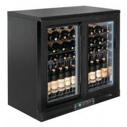 Cava horizontal para vinos Polar. Mantenga sus vinos frescos y listos para servir. Perfectas para espumosos, vinos blancos o rosados. Disponibles con puertas pivotantes o deslizantes. http://www.ilvo.es/es/product/cavas-horizontal-para-vinos