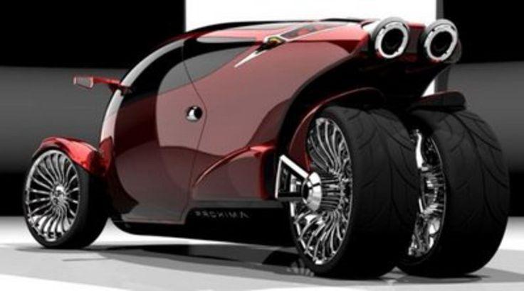 cool cars | Tags: Car-Bike Hybrid , hybrid vehicle , motorbike , Proxima Car-Bike ...