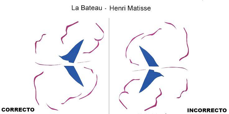 Le Bateau de Henri Matisse estuvo boca abajo durante 47 días en el MoMA