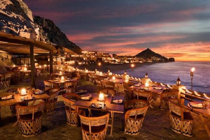 """On my """"to do"""" list....this restaurant is located at one of the newest resorts located at the base of Pedregal in Cabo....You must see Pedregal and the gorgeous home,too!!"""
