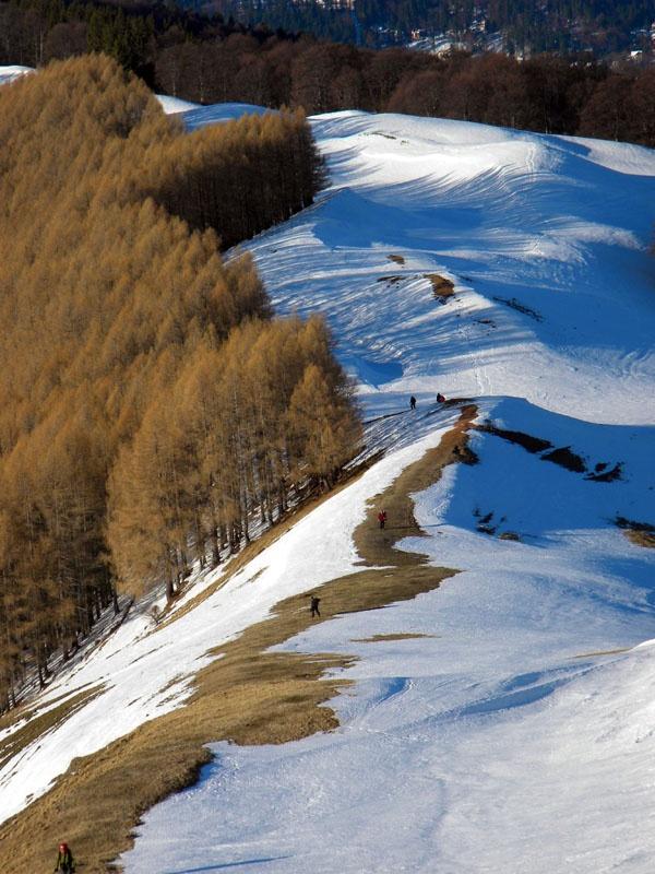 Iarna prin muntii Baiului!