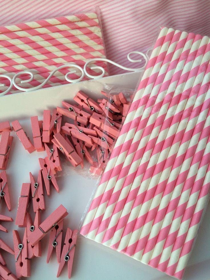 Sorbetes de papel ❤️ Mini broches de madera
