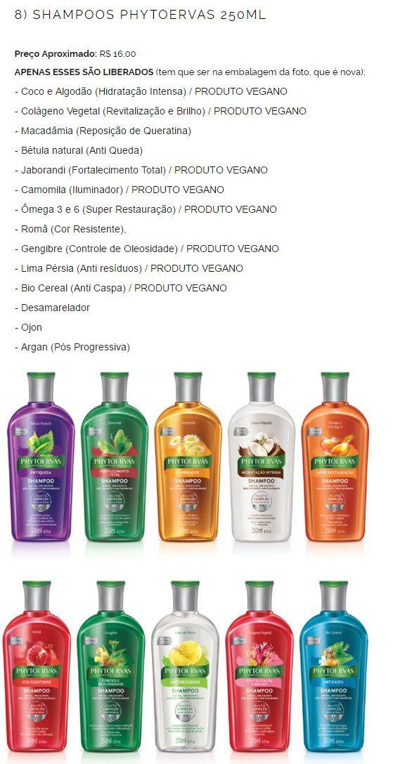 Shampoos Phytoervas liberados para low poo
