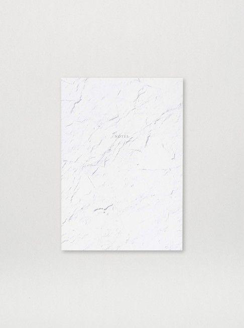 Notebook White Stone