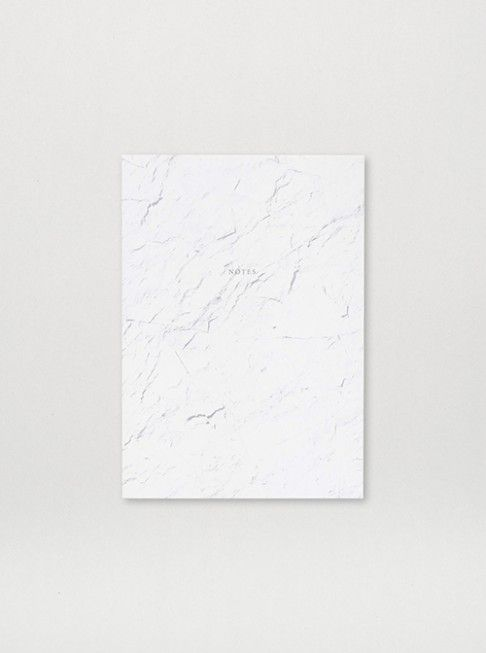 Notebook White Stone