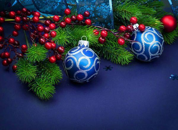 Karácsonyi háttér díszek