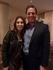 Katrina Kavvalos and John Assaraf - from the movie 'The Secret'