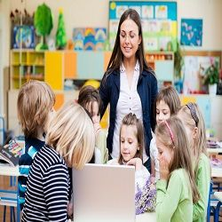 Student volunteers in preschool classrooms benefit the children & help train the child care leaaders of tomorrow!  Preschool Plan It helps you plan for student teachers.