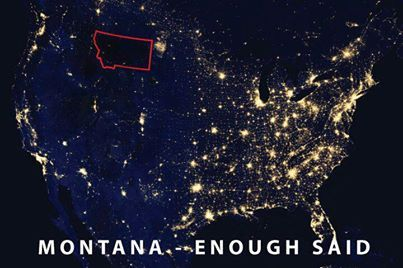 Montana, why we need to eventually buy land and a cabin one day. #OffTheGrid #LeftAlone #SeeYa