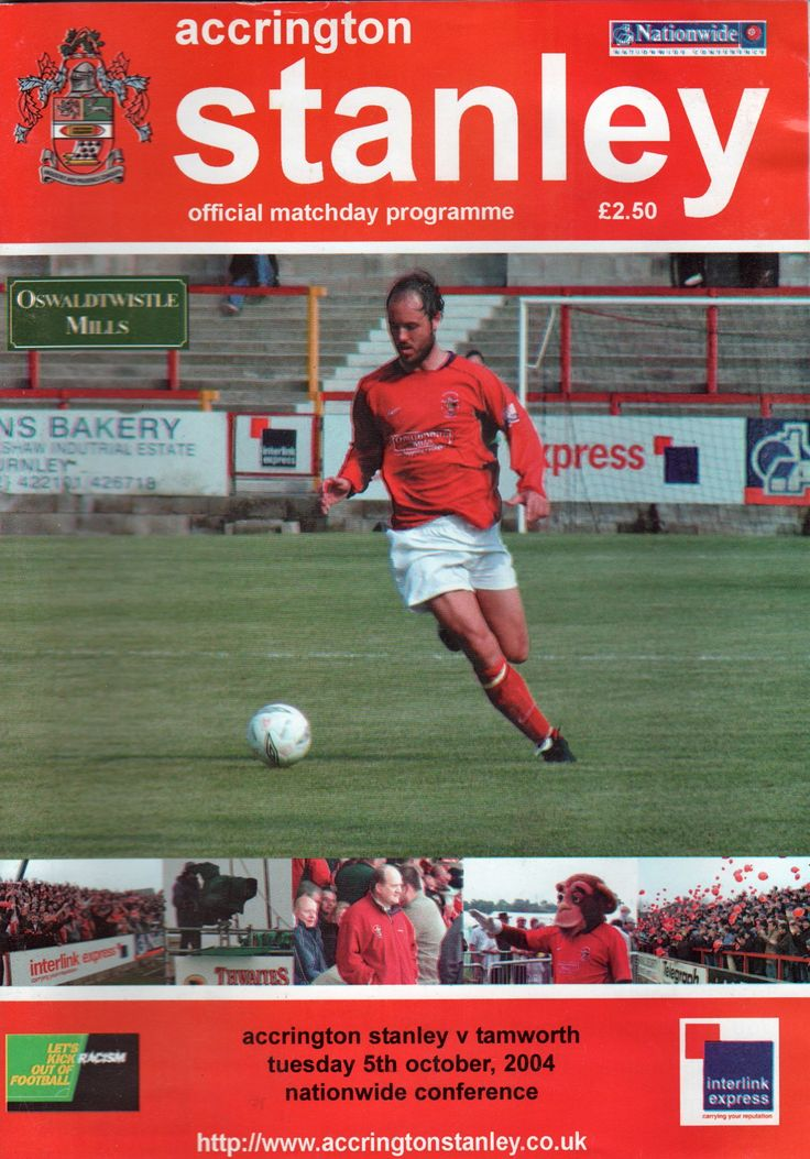 The Crown Ground in Accrington, Lancashire