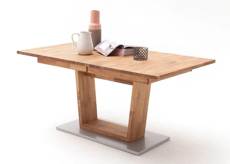 die besten 25 massivholztisch ausziehbar ideen auf pinterest laminat ikea kleiner. Black Bedroom Furniture Sets. Home Design Ideas