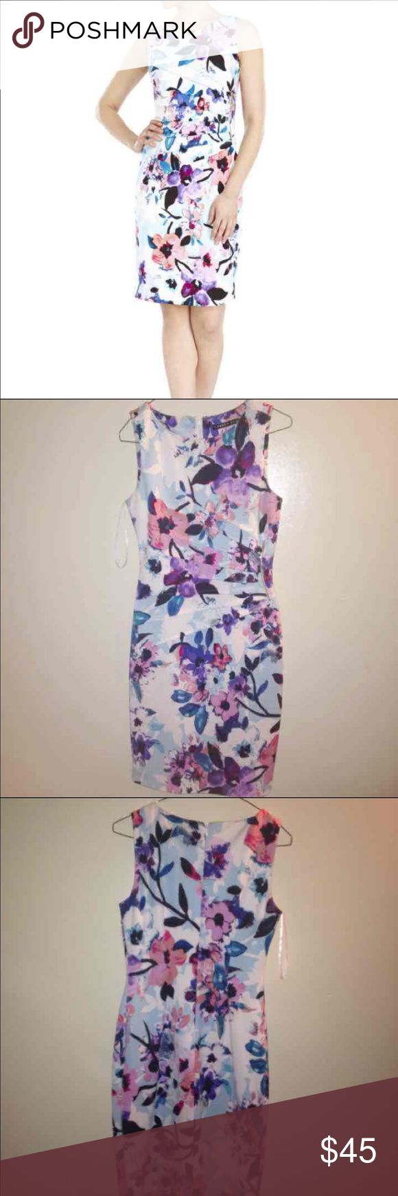 NWOT Ivank Trump floral dress Great for fancy events and weddings Very Cute, professional, and stylish  Bought for more than this price, and it's new, without tag FAST SHIPPING ⚡️ Ivanka Trump Dresses Midi
