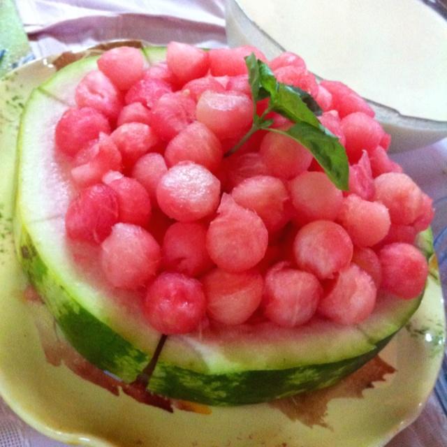 Summertime! Watermelon cake.
